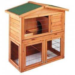 Caseta madera gallinas-conejos Praga