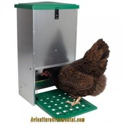 Feedomatic comedero automático para gallinas, pollos y aves de corral