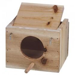 Nido de madera para pájaros nº1