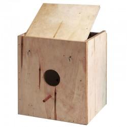 Nido de madera para pájaros nº4