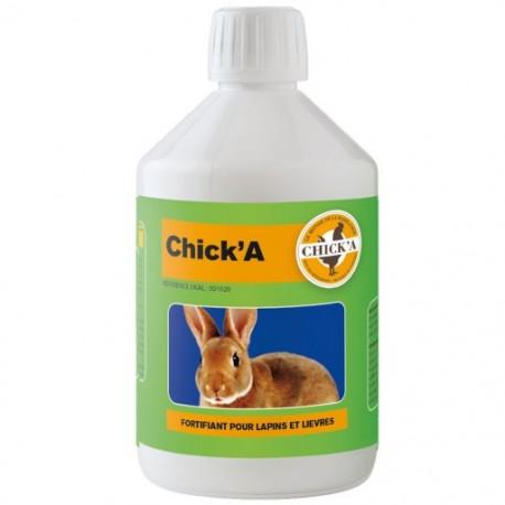 Chick'A Fortalecimiento de conejos y liebres