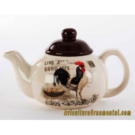 Tetera de cerámica Gallo