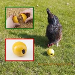 Bola anti estrés aves de corral