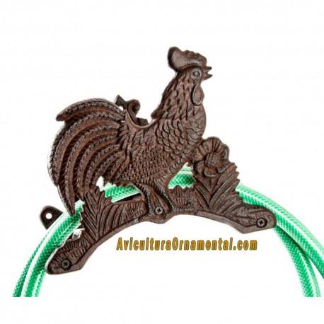 Sujetamangueras Gallo hierro colado