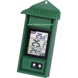 Termómetro digital mínimo/máximo