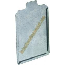 Porta ficha gancho metálico para clasificación de aves