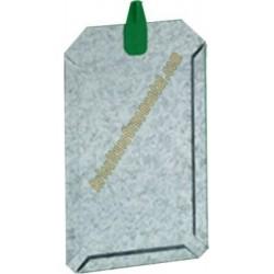 Porta ficha gancho plástico