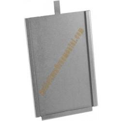 Porta tarjetas galvanizado