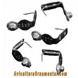 Marcas alares aluminio