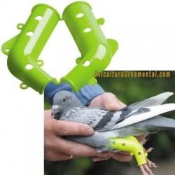 Prótesis para palomas y pequeñas aves