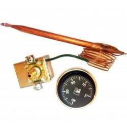 Termostato mecánico sin caja. Max.16 amp